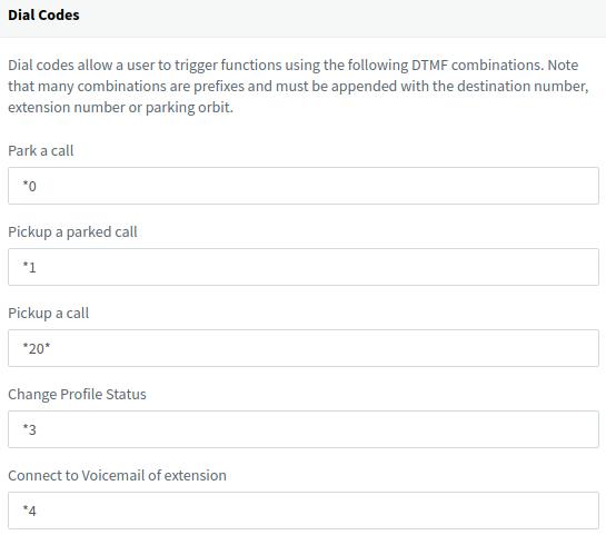 3cx Star codes